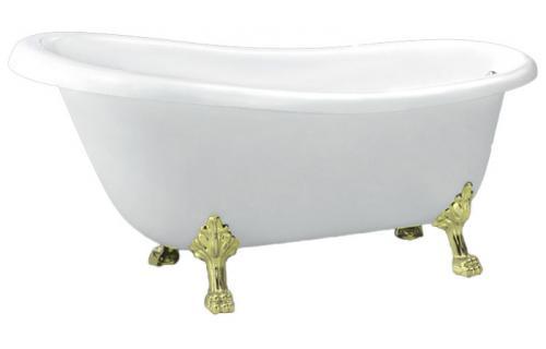 BB04-ORO БелаяВанны<br>Свободностоящая акриловая ванна Belbagno BB04 - ORO.<br>