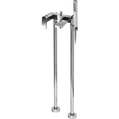 Trend VDP-01 ХромСмесители<br>Напольный смеситель для ванны с ручным душем Cezares  Trend VDP-01.<br>