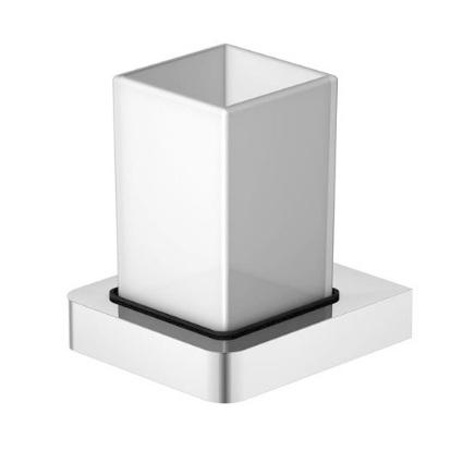 420 2001 белый/хромАксессуары для ванной<br>Стаканчик с держателем Steinberg  420 2001. Материал - массивная латунь с покрытием хром.<br>