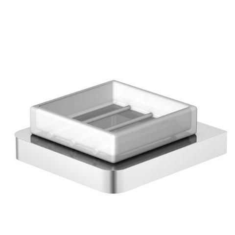 420 2201 белая/хромАксессуары для ванной<br>Мыльница Steinberg 420 2201. Цвет хром.<br>