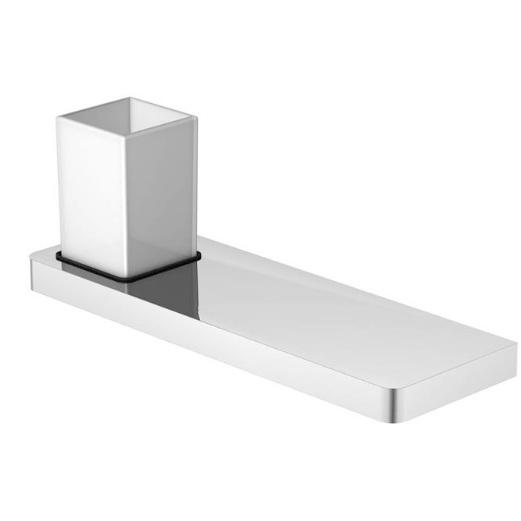 420 2011 белый/хромАксессуары для ванной<br>Стаканчик с держателем Steinberg 420 2011. Цвет белый/хром.<br>