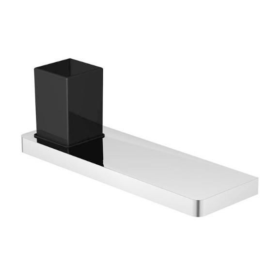 420 2012 Черный/хромАксессуары для ванной<br>Стаканчик с держателем Steinberg 420 2012. Цвет хром.<br>
