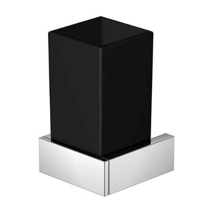 460 2002 Черный/хромАксессуары для ванной<br>Стаканчик с держателем Steinberg 460 2002. Цвет черный/хром.<br>