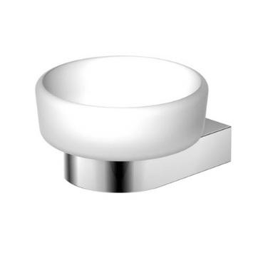 470 2200 Белая/хромАксессуары для ванной<br>Мыльница настенная Steinberg 470 2200. Цвет белый/хром.<br>