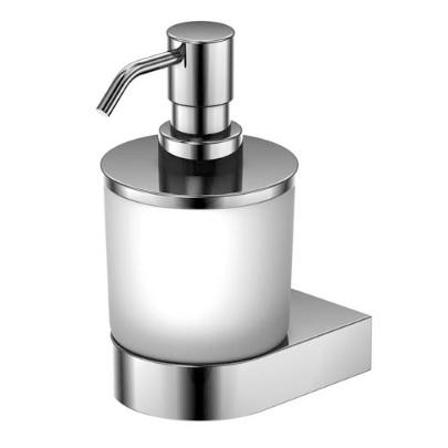 470 8000 белая/хромАксессуары для ванной<br>Мыльница с дозатором Steinberg 470 8000. Цвет белый/хром.<br>