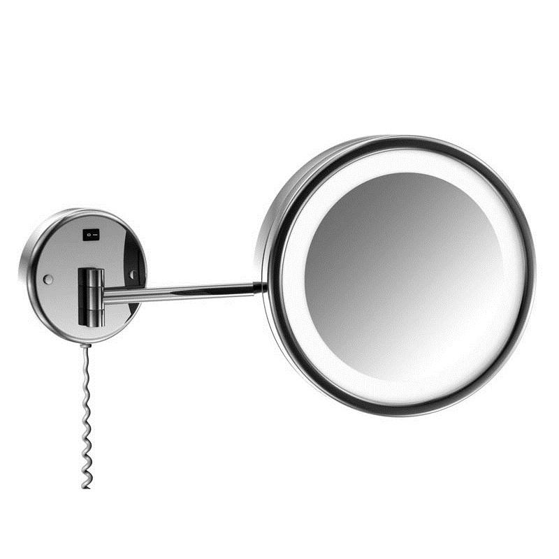 650 9020 ХромАксессуары для ванной<br>Косметическое зеркало Steinberg 650 9020 с выключателем 230V, технология ЛЭД, кратность увеличения равна 2,5. Цвет хром.<br>