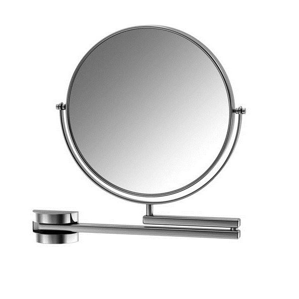 650 9200 ХромАксессуары для ванной<br>Косметическое зеркало Steinberg 650 9200, двухрожковое, с двух сторон, кратность увеличения равна 2,5. Цвет хром.<br>
