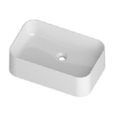 588 БелаяРаковины<br>Раковина накладная Disegno Ceramica Slim 588 белая, без отверстий для смесителя, без перелива.<br>