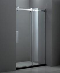 Stylus BF-1-130-C-Cr-L/R Прозрачное стекло LДушевые ограждения<br>Душевая дверь Cezares BF-1-130-C-Cr-L.Одна раздвижная секция и одно неподвижное стекло. Поддон приобретаются отдельно.<br>
