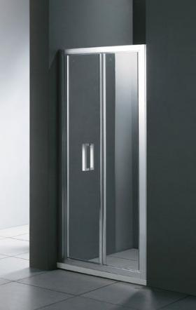 Porta BS 80 Прозрачное стеклоДушевые ограждения<br>Душевая дверь в нишу Cezares Porta BS 80 PORTA-D-BS-80-C-Cr складная. Стекло 6 мм.<br>