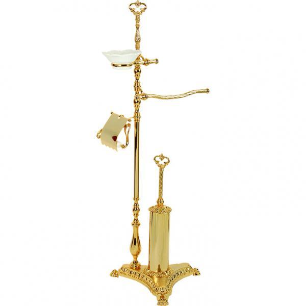 Elisabetta ML.ELB-60.144 DO (золото)Аксессуары для ванной<br>Стойка 4-х функциональная высотой 110 см Migliore Elisabetta  ML.ELB-60.144 DO. Цвет золото.<br>
