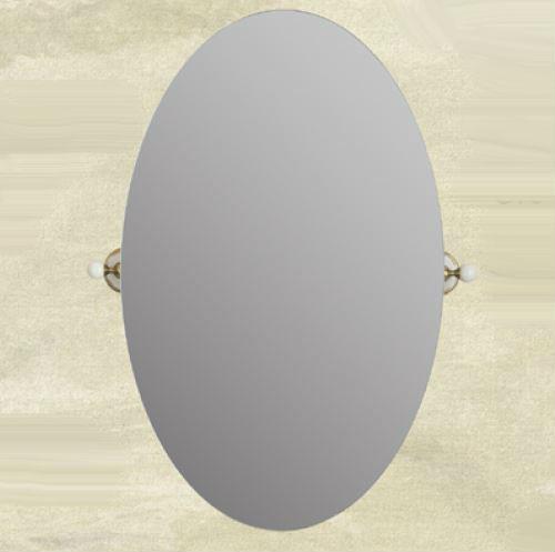 Provance ML.PRO-60.533 BR (бронза)Мебель для ванной<br>Зеркало овальное настенное Migliore Provance  ML.PRO-60.533 BR.  Цвет бронза.<br>