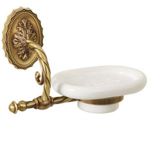 Edera ML.EDR-60.301 BR (бронза)Аксессуары для ванной<br>Мыльница настенная Migliore Edera ML.EDR-60.301 BR. Цвет бронза.<br>