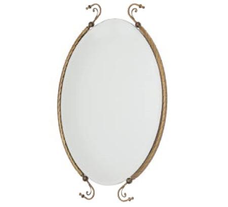 Edera ML.EDR-60.333 BR (бронза)Мебель для ванной<br>Зеркало Migliore Edera ML.EDR-60.333 BR. Цвет бронза.<br>
