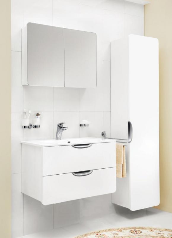 Bliss L 60  Белый глянецМебель для ванной<br>Тумба подвесная Bliss L 60 M53FHX0602WG. Цвет исполнения – белый глянец. Модель оснащена двумя просторными ящиками для хранения с доводчиками. Зеркальный шкаф и раковина приобретаются отдельно.<br>