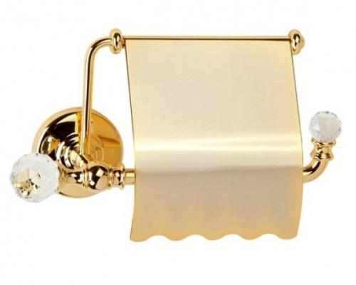 Amerida Swarovski ML.AMR-60.406 BR (бронза)Аксессуары для ванной<br>Бумагодержатель закрытый  Migliore Amerida Swarovski ML.AMR-60.406 BR. Цвет бронза.<br>