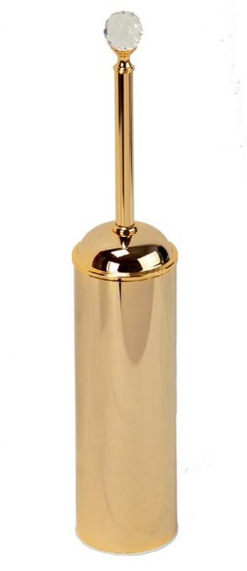 Amerida Swarovski ML.AMR-60.413 DO (золото)Аксессуары для ванной<br>Ершик для унитаза напольный  Migliore Amerida Swarovski ML.AMR-60.413 DO. Цвет золото.<br>
