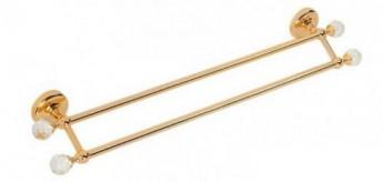 Amerida Swarovski ML.AMR-60.423 DO (золото)Аксессуары для ванной<br>Полотенцедержатель двойной длиной 60 см Migliore Amerida Swarovski ML.AMR-60.423 DO. Цвет золото.<br>