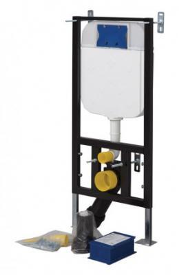 GR5003 СтальИнсталляции<br>Инсталляция для подвесного унитаза Creavit GR5003. В комплект системы инсталяции CREAVIT входит крепеж GR 5003 универсальный монтажный элемент CREAVIT быстро монтируется в гипсокартонных перегородках в соответствии со всеми техническими требованиями. Прекрасно подходит для монтажа внутри или перед стеной. Высота монтажного элемента 121 см. Подвод воды по центру сзади или сверху.Регулируемый объем смыва. Бачок скрытого монтажа для установки и ремонта без применения инструментов.<br>
