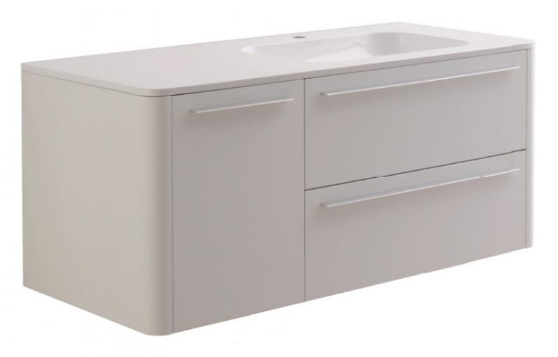 Awe M15FHR1253WF Венге L 125 смМебель для ванной<br>Тумба под раковину AM PM Awe M15FHL1253VF. Раковина и зеркало приобретается дополнительно.<br>