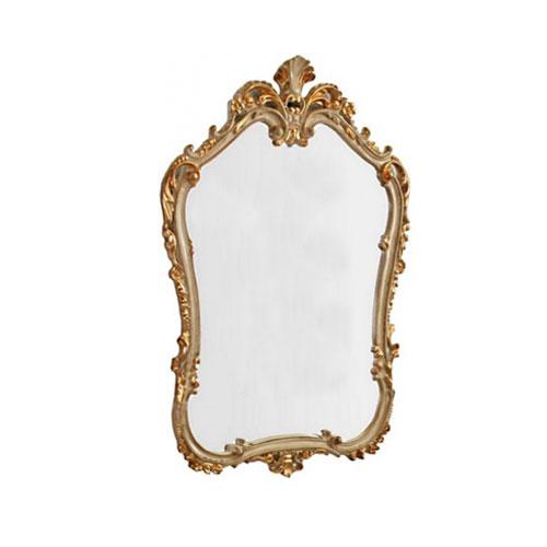 Retro ML.COM-70.706 AG (серебро)Мебель для ванной<br>Зеркало фигурное Migliore Retro ML.COM-70.706 AG. Цвет серебро.<br>
