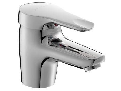Kandel E660RU-CP ХромСмесители<br>Jacob Delafon Kandel E660RU-CP: однорычажный, аэратор Cascade с антиизвестковым покрытием, ограничитель температуры воды, с гибкой подводкой, обратный клапан на выходе для душа, ограничитель напора воды, высота 109 мм, длина излива 102 мм.<br>