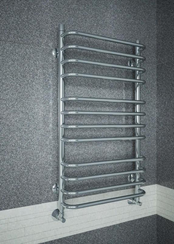 Стандарт-Люкс  500х1130  14 перекладинПолотенцесушители<br>Полотенцесушитель Terminus Стандарт-Люкс – это не просто металлическая изогнутая труба, которая обеспечивает обогрев помещения и сушку полотенец. Это изящный элемент современного дизайна ванной комнаты. Водяной полотенцесушитель Ttrminus Стандарт люкс 32/20 П10 6-4 отличается стильным внешним видом, поэтому способен гармонично вписаться в любой интерьер, радуя владельца своей красотой и функциональностью. Размер 500х1130 мм.<br>