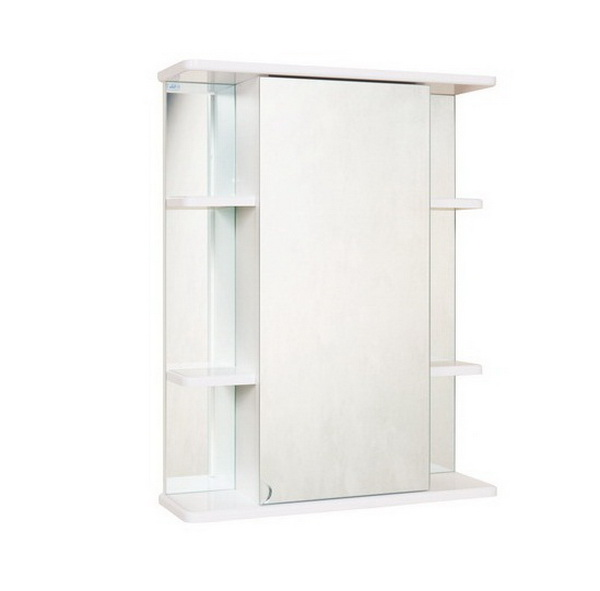 Зеркальный шкаф Onika Глория 55 У Белый