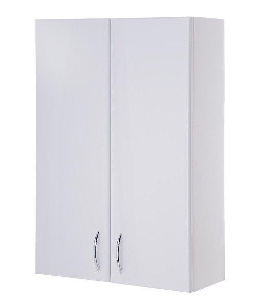 Кредо 40 БелыйМебель для ванной<br>Шкаф подвесной двухдверный Onika Кредо 40, дверки распашные - 2 шт, Полки внутренние - 2 шт, ручки - металл (хром) - 2 шт.<br>