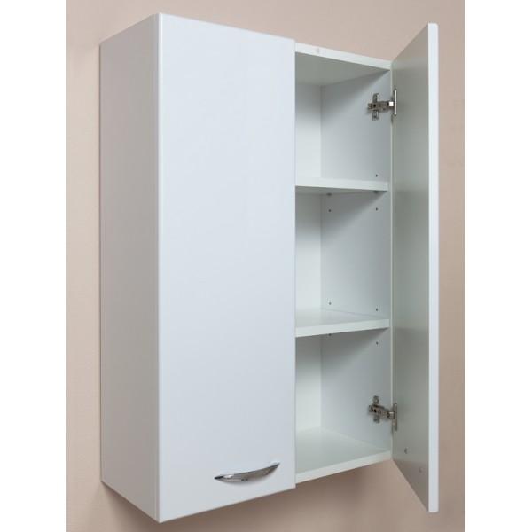 Кредо 50 БелыйМебель для ванной<br>Шкаф подвесной двухдверный Onika Кредо 50, в комплекте имеются крепежные элементы и вся необходимая фурнитура.<br>