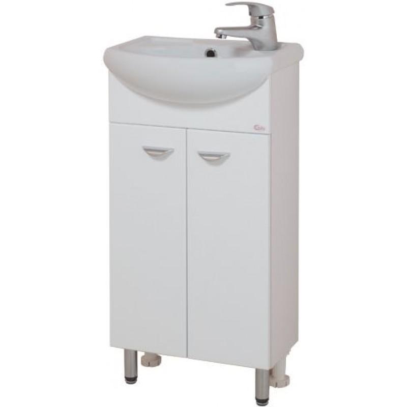 Азов 40.10 БелыйМебель для ванной<br>Тумба с раковиной Onika Азов 40.10, в комплекте имеются крепежные элементы и вся необходимая фурнитура.<br>