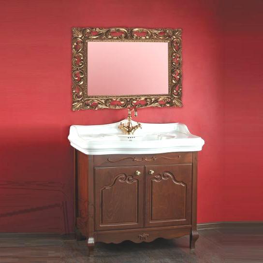 Impero ML.IMP-BA090 Decape Sabbia (бежевая)Мебель для ванной<br>Тумба под раковину 90 см Migliore Impero ML.IMP-BA090.DS, ручки хром, бронза, золото.  Цвет decape sabbia (бежевый).<br>