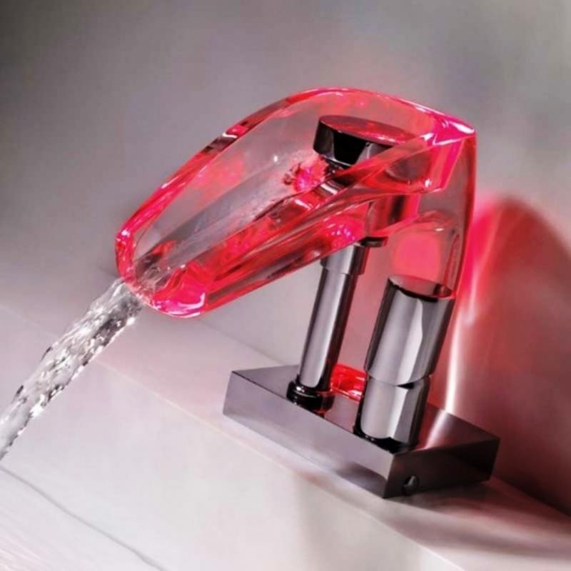 Niagara Sensations FA0300LU ХромСмесители<br>Смеситель для раковины Marti 1921  Niagara Sensations FA0300LU однорычажный с подсветкой LED.<br>