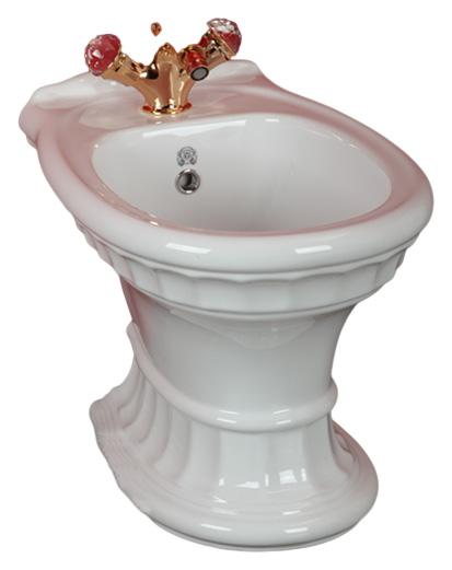 Биде Migliore Gianeta ML.GNT-25.832 BI (белая керамика) шубка белая in extenso