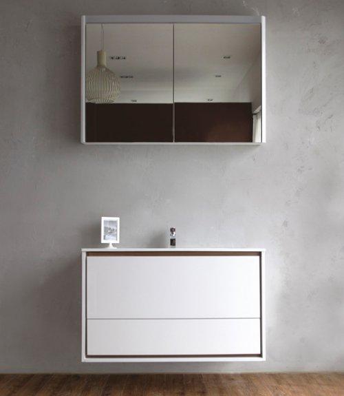Gloria BB1000ODC/BL Tortora LucidoМебель для ванной<br>BB1000ODC/TL тумба под раковину Belbagno Gloria, с двумя выкатными ящиками, с доводчиками, со скрытыми ручками в плоскости фасада. Зеркало BB1000BMS/BL и раковина  BB1000ODB приобретаются отдельно.<br>