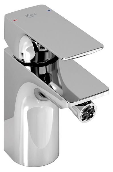Strada A5845AA ХромСмесители<br>Смеситель для биде Ideal Standart Strada A5845AA. В комплектацию входит: картридж 40 мм Multiport, аэратор M20x1 CASCADE, металлический донный клапан.<br>
