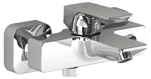 Strada A5848AA ХромСмесители<br>Смеситель для ванны Ideal Standart Strada A5848AA. В комплектацию входит: картридж 40 мм Multiport, функция HWTC (ограничение горячей воды), регулируемый аэратор M24x1.<br>