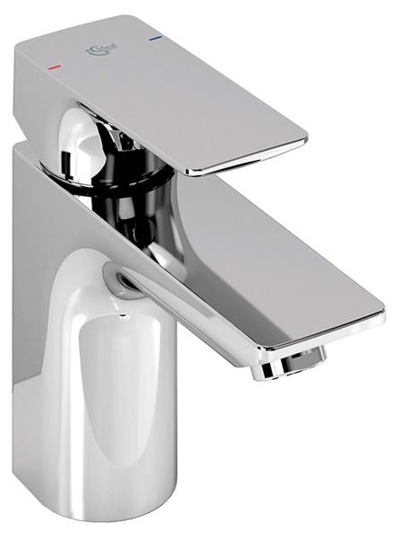 Strada A5897AA ХромСмесители<br>Смеситель для раковины Ideal Standart Strada A5897AA. В комплектацию входит: Картридж 40 мм Multiport, функция HWTC(ограничение горячей воды), металлический донный клапан, аэратор.<br>