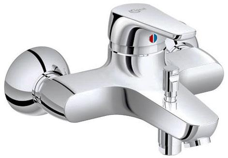 Cerasprint 2012 B9566AA ХромСмесители<br>Смеситель для ванны Ideal Standart Cerasprint 2012 B9566AA скрытого монтажа. В комплектацию входит: картридж Click 47 мм, аэратор Cascade M24x1, обратный клапан.<br>