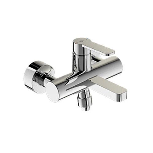 Smart B0462AA ХромСмесители<br>Смеситель для ванны Ideal Standart Smart B0462AA. В комплектацию входит: картридж 35 мм, обратный клапан, аэратор. Без душевого гарнитура.<br>