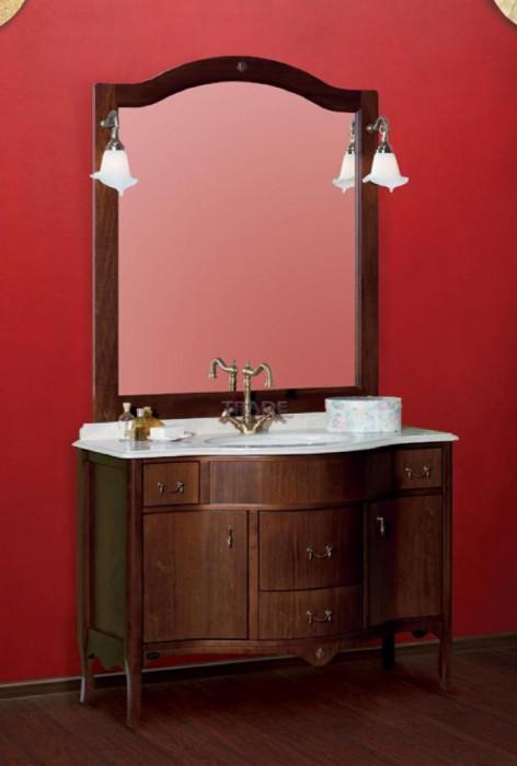 Barsellona PS.BRS-BA110 NC (Noce)Мебель для ванной<br>Тумба под раковину Migliore Kantri PS.BRS-BA110 NC с ящиками.  Цвет Noce (орех).<br>
