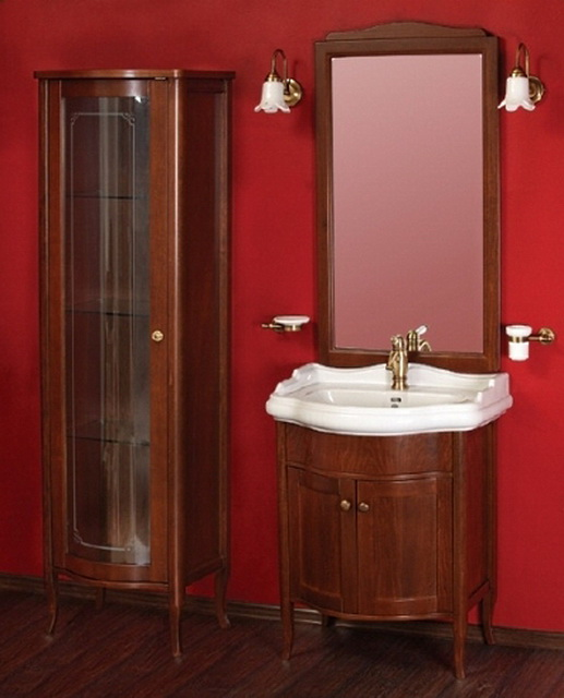 Bella ML.BLL-BA446   DR (decape rosa)Мебель для ванной<br>Тумба под раковину  Migliore Bella ML.BLL-BA446 DR. Ручки хром/бронза/золото. Зеркало и раковина приобретаются отдельно.  Цвет  decape rosa (розовая патина).<br>