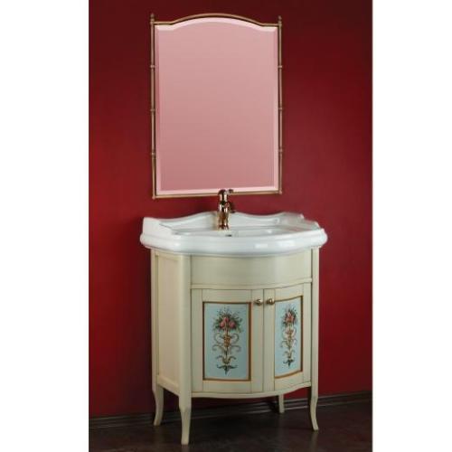 Bella ML.BLL-BA446.VZ DS (decape sabbia)Мебель для ванной<br>Тумба под раковину  Migliore Bella ML.BLL-BA446.VZ DS с декором Veneziano. Ручки хром/бронза/золото.   Цвет  decape sabbia (крем).<br>