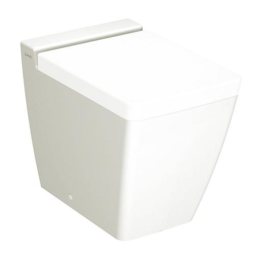 T4 4465B003-0075 БелыйУнитазы<br>Унитаз приставной T4 4465B003-0075 с горизонтальным сливом.Сиденье с микролифтом приобретается отдельно.<br>