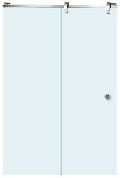 Gamma 150-12 ЛеваяДушевые ограждения<br>Душевая дверь Aquanet Gamma 150-12 L. Стекло прозрачное, профиль нержавеющая сталь. Толщина стекла 8 мм. В комплект входит:   Gamma 150-12 L откатная дверь стекло прозрачное, комплект фурнитуры для откатной двери Gamma 150х80 см арт.166790, Gamma поддон 150х80 + панель L для откатной двери арт.176115.<br>
