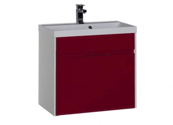 Латина 70 ЧернаяМебель для ванной<br>Тумба под раковину Aquanet Латина 70 арт.180001. Подвесная, с ящиком.<br>