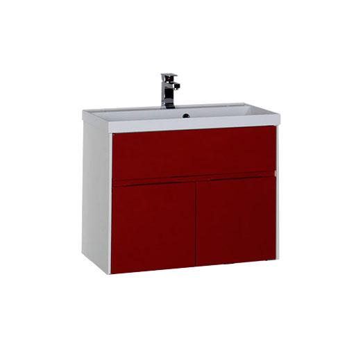 Латина 90 ЧернаяМебель для ванной<br>Тумба под раковину Aquanet 90 арт.179931. Три выдвижных ящика.<br>