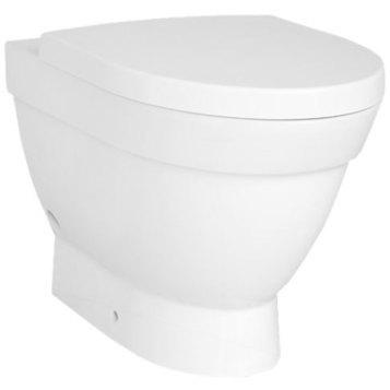 Form 500 4304B003-0075 БелыйУнитазы<br>Унитаз приставной Form 500 4304B003-0075. Отдельно можно приобрести сидение с микролифтом или без него.<br>
