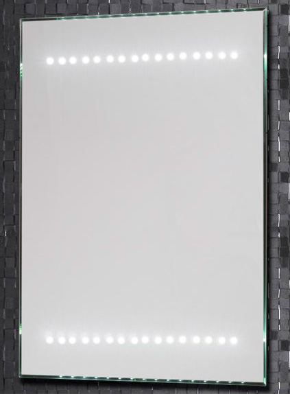 Зеркало LED-04 500х700 С подсветкойМебель дл ванной<br>Зеркало Aquanet LED-04 с внутренней LED подсветкой.  Комплектаци: тип освещени – LED, вклчение/выклчение инфракрасный сенсорный выклчатель IR.<br>