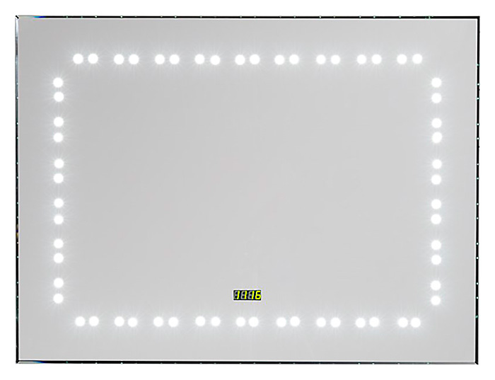 Зеркало LED-07C 800х600 С подсветкойМебель для ванной<br>Зеркало Aquanet LED-07C с внутренней LED подсветкой. Комплектация: тип освещения – LED, включение/выключение инфракрасный сенсорный выключатель IR.<br>